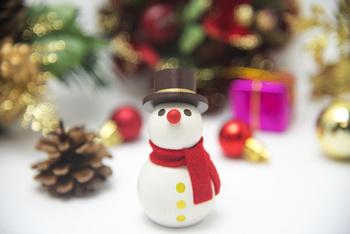 クリスマスイメージ  雪だるま